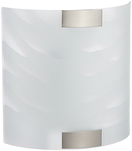 Trio Leuchten Wall Light with Glass in alabaster white - Lighting Trio Wall