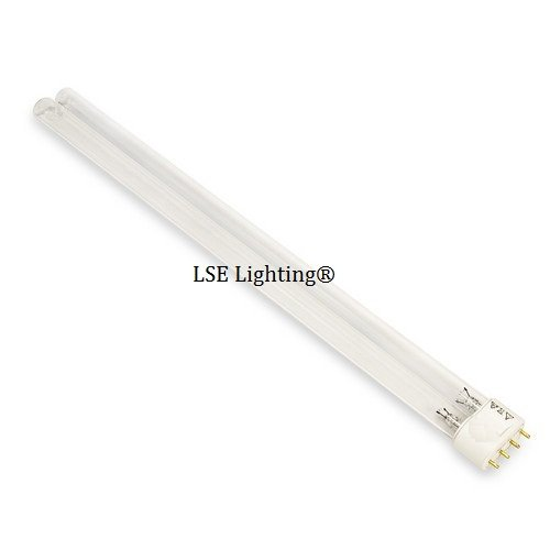 Replacement 55 Watt UV Bulb Jebao SunSun Helix Max 2G11 B...