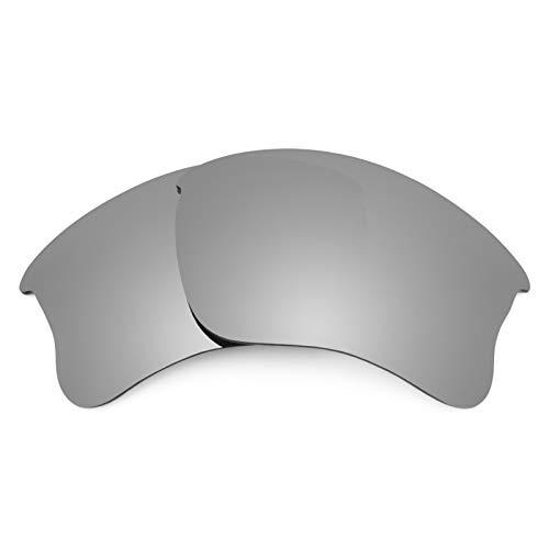 Revant Polarized Replacement Lenses for Oakley Flak Jacket XLJ Elite Titanium MirrorShield