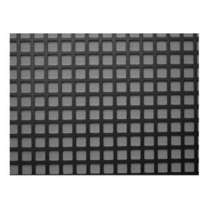 Sheet, Perf, Stl, 40x36,18 ga, 0.500 Dia, Sq -