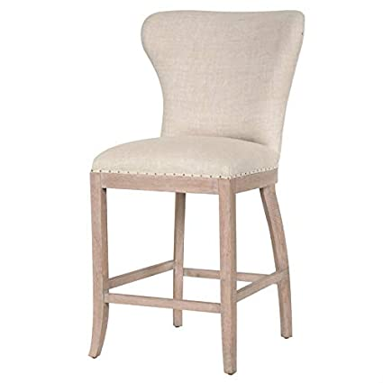 Admirable Amazon Com Maklaine 26 Counter Stool In Bisque French Gmtry Best Dining Table And Chair Ideas Images Gmtryco