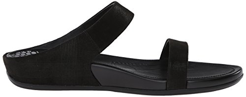 FF2TM by FitFlopTM BandaTM Opul Slide Black 7 UK