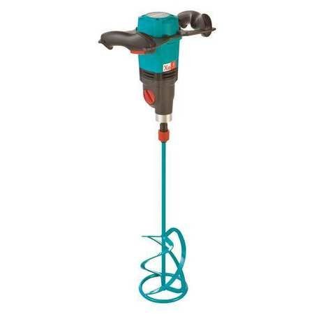 Collomix Xo6 Power Hand-Held Mixer with Quick Connect Mixing Paddle MK160HF, 2 Speed 0-410 RPM, 0-580 RPM Variable Speed Motor, 1400W/ 110V/ 12.7A, 23.75 Gallon Mixing Volume by Collomix