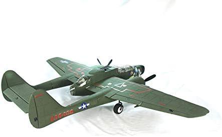 PNP DYNAM RC Airplane P-61 Black Widow Green 1500mm Wingspan
