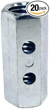 Simpson Strong Tie CNW5//8-R 5//8 Coupler Nut w//Indicator 20 per Box