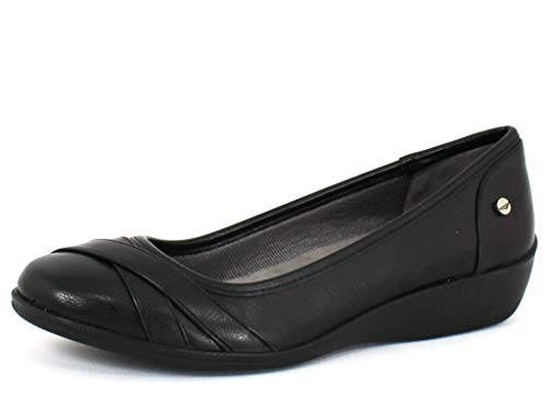 LifeStride Women's, I Loyal Slip on Shoe Black 9 N ()