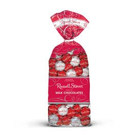 Russell Stover Solid Milk Chocolate Balls, 9 oz.