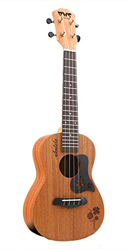 Icegrey 23 Inch Nylon Strings Ukulele Hawaii Guitar for Child or Beginner Four-leaf clover ()