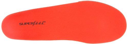 Superfeet, Semelles Orthopédiques Homme, Rouge (Red Hot), 37 EU
