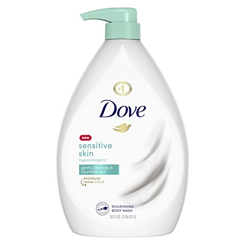 Dove Body Wash for Softer and Smoother Skin Sensitive Skin Effectively Washes Away Bacteria While Nourishing Your Skin…