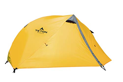 TETON Sports Mountain Ultra 1 Person Tent; Backpacking Dome Tent Includes Footprint and Rainfly; Quick and Easy Setup; Ready in an Instant When You Need to Get Outdoors; Clip-On Rainfly Included