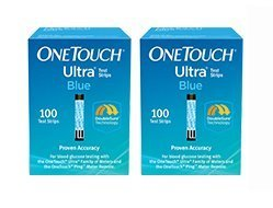 One Touch Ultra Blue Test Strips 200 Count by One Touch Ultra