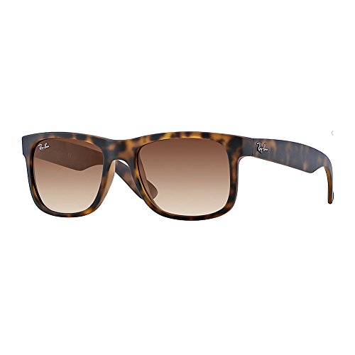 New Ray Ban Justin RB4165 710/13 Tortoise/ Brown Gradient 55mm - Ray Tortoise Ban Justin