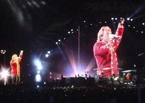 Bon Jovi - de la banda de rock - en directo - A3 del cartel ...