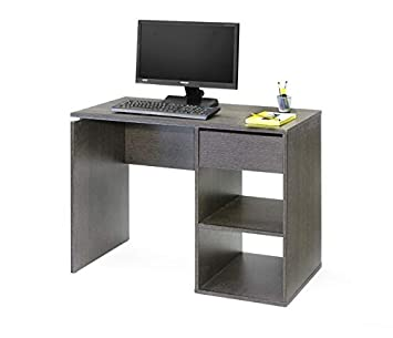 TopKit 5010WE Mesa de Escritorio Burgos 5010 con cajón (Ancho 100 ...