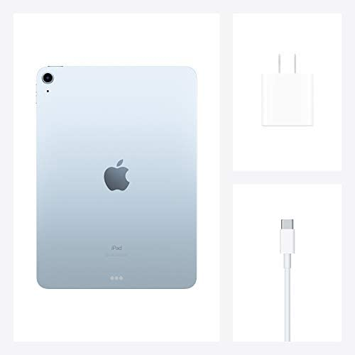 New Apple iPad Air (10.9-inch, Wi-Fi, 64GB) - Sky Blue (Latest Model, 4th Generation)