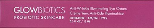 Glowbiotics MD Probiotic Anti-Wrinkle Illuminating Anti-Aging Eye Cream, 0.5oz