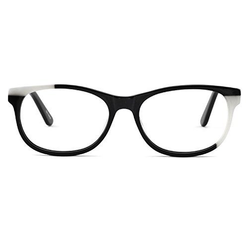 OCCI CHIARI Stylish Glasses Frame Prescription Eyewear Black Eyeglasses ()