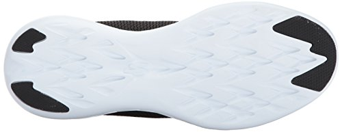 Skechers Performance Mens Go Run 600 Raffina Scarpa Da Corsa Nero / Bianco