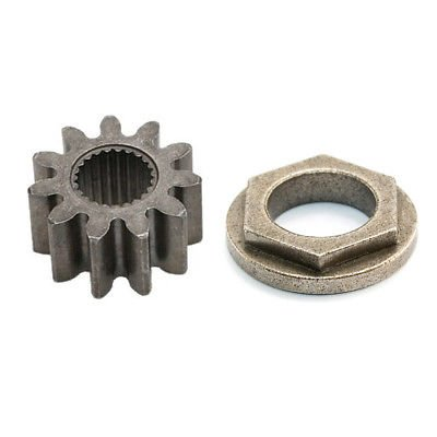 (KaleidoScope) OEM Steering Shaft Pinion Gear & Bushing Cub Cadet LT1042 LT1045 LT1046 LT1050