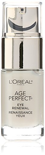 Renewal Cream (L'Oréal Paris Age Perfect Eye Renewal Anti Aging Eye Cream with Antioxidant. Reduce Bags, 0.5 fl oz)