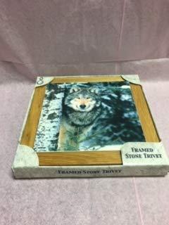Highland Graphics Absorbastone Framed Wolf Trivet