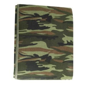 CAMOUFLAGE MILITARY POLAR FLEECE BLANKETS (60
