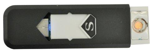 USB Electronic Cigarette Lighter (Black) - 9