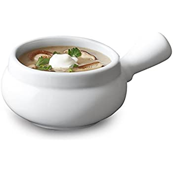 Amazon Com Sur La Table Blanc Soup Bowl With Handle