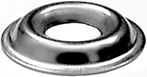 100 #10 Flanged Countersunk Washers Stainless Steel