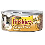 Friskies Chicken and Tuna Dinner (24/5.5-oz cans – Previously Prime Entree), My Pet Supplies