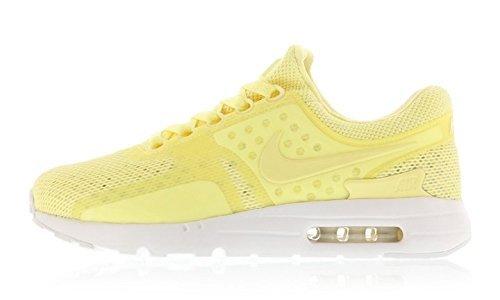 super popular 6ef66 046f5 NIKE Air Max Zero BR Men's Running Shoes Size US 10.5 Lemon Chiffon/White