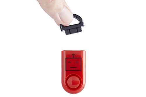 ROBOCOPP SOS Personal Alarm, Original Sound Grenade, Battery, Carabineer Included,