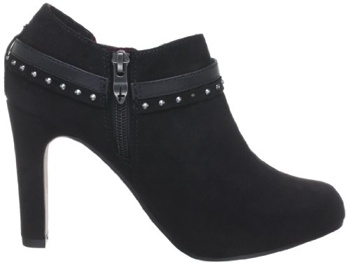 Tamaris TAMARIS - Zapatillas de casa de terciopelo mujer negro - Schwarz (BLACK 001)