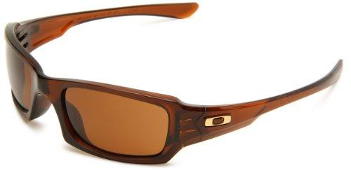 Oakley Fives Squared Fives Squared Sport Sunglasses,Rootbeer Frame,Dark Bronze Lens,One - Sunglasses Fives