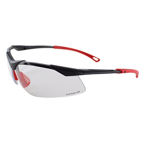 Titus G28 Clear - Sport Safety Glasses (Standard, - Coupon Sunglass Rage