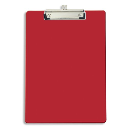 Officemate Recycled Clipboard, Red, 1 Clipboard (83043)