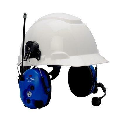 Magellan Radio - 3M PELTOR Lite-Com Pro II Two Way Radio Headset MT7H7P3E4010-NA-50, Communications Headset Hard Hat-Attachable