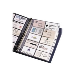 Amazon 5 Sheet Clear Plastic organizer BUSINESS CARD
