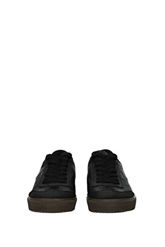 Noir Leather Cuir Crown MLC791 Homme Sneakers EU xOfZFOvqwH