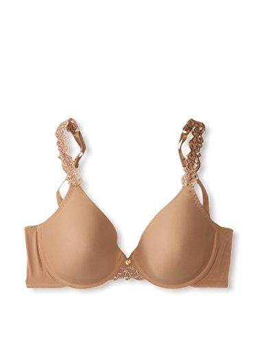 Natori Womens Intimates Lace Body Doubles Contour Bra, 34Ddd Suntan