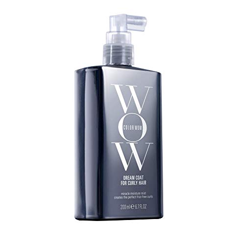 - COLOR WOW Dream Coat for Curly Hair, Miracle moisture mist for perfect frizz-free curls, 6.7 Fl Oz