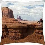 Monument-Valley-Arizona-USA - Throw Pillow Cover Case (18