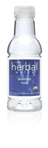 Ayala's Herbal Water, Lavender Mint, 16 Ounce (Pack of 12)