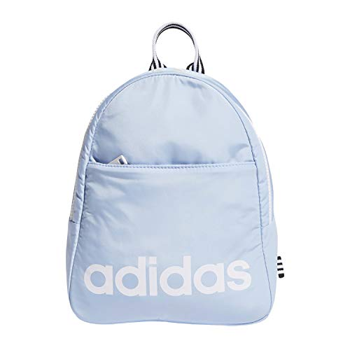 adidas Core Mini Backpack, Glow Blue/White/Black, One Size