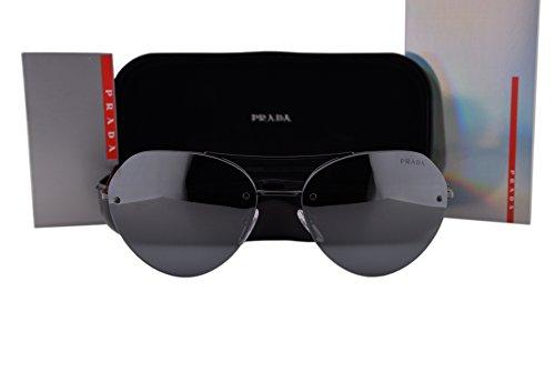 Prada PS57RS Sunglasses Black w/Gray Gradient Lens 7AX5L0 SPS 57R ()