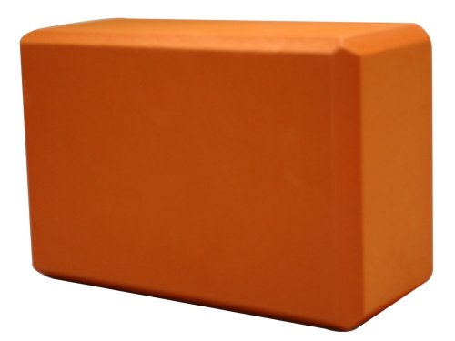 Yoga Direct 4-Inch Deluxe Foam Yoga Block, Terra Cotta