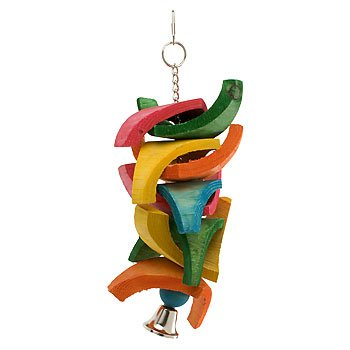 Mac's Creatures and Critters Quality Natural Bird Toy, My Pet Supplies