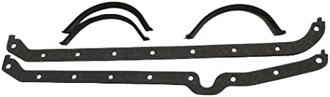 Milodon 41000 Oil Pan Gasket for Small Block Chevy 1956-1979