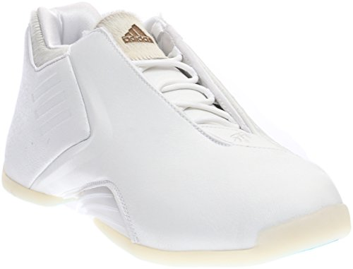 Adidas Men's T-Mac 3 Basketball Running White/Running White/Blueglo 10.5 D(M) US ()